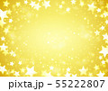 光る星ゴールド背景 55222807