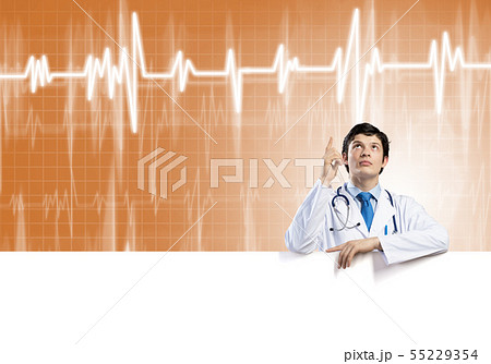 Doctor with banner 55229354