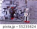 おもちゃのロボット 55235624