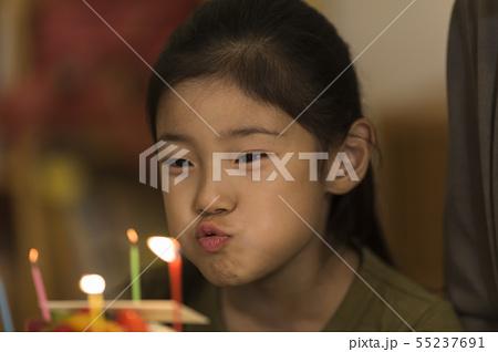 女の子 ケーキ 誕生日 55237691