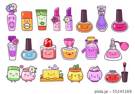 Perfume, cosmetics, nail polish, lipstick. 55245169