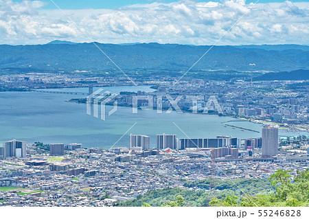 【比叡山ドライブウェイから見る琵琶湖】 滋賀県大津市山上町 55246828