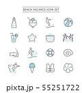 BEACH ICON SET 55251722