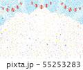 花火 提灯 紙吹雪 入道雲 55253283