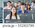 大学生 学生 講義の写真 55263790