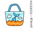 Beach bag with a mermaid tail. 55265554