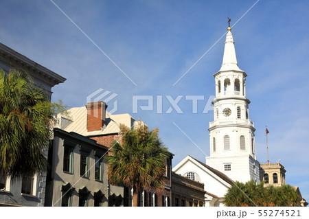 アメリカ 東海岸 サウスカロライナ チャールストン 歴史地区 55274521