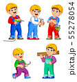 Construction Worker People cartoon character 55278054