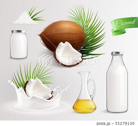 Coconut Milk Products Set 55279130