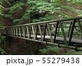 西沢渓谷 大久保沢の橋 55279438