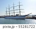 帆船 日本丸 55281722