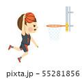 バスケットボール 男性 55281856