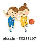 バスケットボール 女性 55283197
