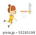 バスケットボール 女性 55283198