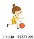 バスケットボール 女性 55283199