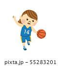 バスケットボール 女性 55283201