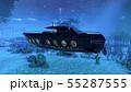 潜水艦 55287555