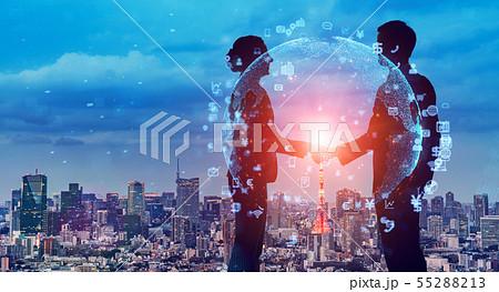 ビジネスネットワーク 55288213