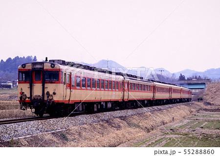 1996年 舞鶴線を走るキハ58系急行丹後6両 55288860