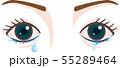 目の症状 涙目 流涙症  55289464