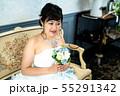 ウェディングドレスの花嫁 55291342
