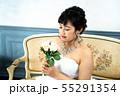 ウェディングドレスの花嫁 55291354
