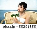 ウェディングドレスの花嫁 55291355