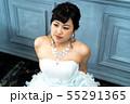 ウェディングドレスの花嫁 55291365