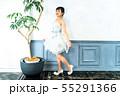 ウェディングドレスの花嫁 55291366