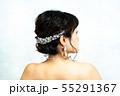 ウェディングドレスの花嫁 55291367