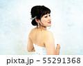 ウェディングドレスの花嫁 55291368