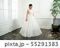 ウェディングドレスの花嫁 55291383
