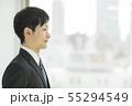 ビジネスマン 就職活動 新入社員の写真 55294549
