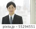 男性 ビジネスマン 会社員の写真 55294551