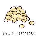 大豆 イラスト 55296234