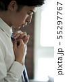 ビジネスマン 身支度 55297767