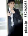 ビジネスマン ポートレート 55298068