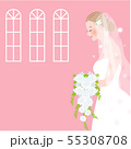花嫁 横顔 55308708