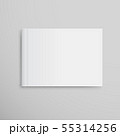 Realistic White Book Mock Up Template Background. 55314256