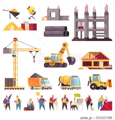 Construction Flat Set 55335799