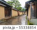 雨の金沢・長町武家屋敷跡 55338854