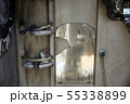 火事で焼けた風呂場 55338899