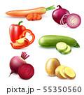 Vegetable Realistic Pieces Set 55350560