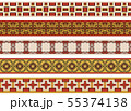 Seamless decorative borders 55374138