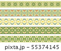 Seamless decorative borders 55374145