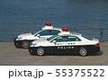 港に集結した神奈川県警パトカー 2台 55375522