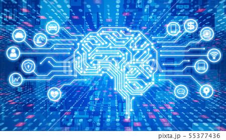 AI・人工知能 55377436