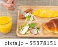 朝食プレート 55378151
