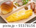 朝食プレート 55378156