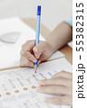 宿題 鉛筆 えんぴつの写真 55382315